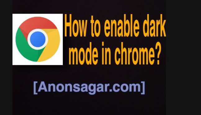 How to enable dark mode in chrome using your android?>                                                                            <h3><a href=